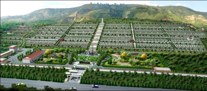 西安汉陵墓园